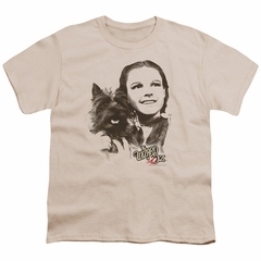 The Wizard Of Oz  Kids Shirt Dorothy And Toto Cream T-Shirt