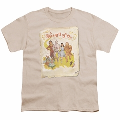 The Wizard Of Oz  Kids Shirt Poster Cream T-Shirt