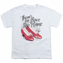 The Wizard Of Oz  Kids Shirt Red Ruby Slippers White T-Shirt