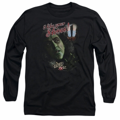 The Wizard Of Oz  Long Sleeve Shirt I like Your Shoes Black Tee T-Shirt
