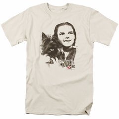 The Wizard Of Oz Shirt Dorothy And Toto Cream T-Shirt