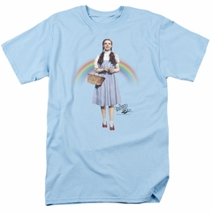 The Wizard Of Oz Shirt Over The Rainbow Light Blue T-Shirt
