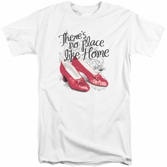 The Wizard Of Oz Shirt Red Ruby Slippers Tall White T-Shirt