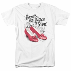 The Wizard Of Oz Shirt Red Ruby Slippers White T-Shirt