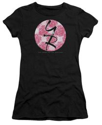 The Young And The Restless Juniors Shirt Young Roses Logo Black T-Shirt