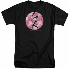 The Young And The Restless Shirt Young Roses Logo Black Tall T-Shirt