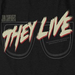 They Live Glasses Logo Shirts