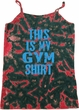 This Is My Gym Shirt Ladies Tie Dye Camisole Tank Top