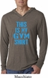 This Is My Gym Shirt Lightweight Hoodie Shirt