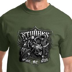 Three Stooges Bike Week Shirts