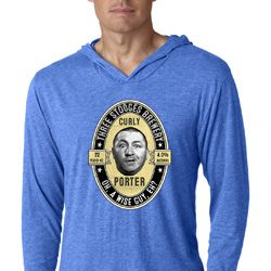 Three Stooges Curly Porter Lightweight Hoodie Tee