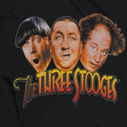 Three Stooges Head Logo Shirts