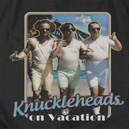 Three Stooges Knuckleheads On Vacation Shirts