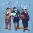 Three Stooges Ladies Shirt Sexy Light Blue Tee T-Shirt