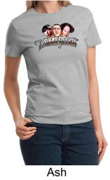 Three Stooges Ladies T-shirt Funny Faces Tee Shirt