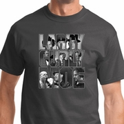 Three Stooges Larry Curly Moe Mens Shirts