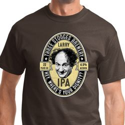 Three Stooges Larry IPA Shirts