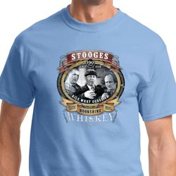 Three Stooges Moonshine Whiskey Shirts