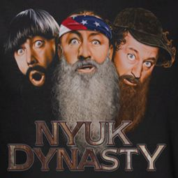 Three Stooges NYUK Dynasty Shirts