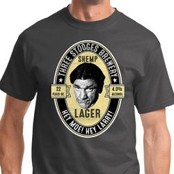 Three Stooges Shemp Lager Shirts