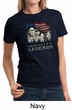Three Stooges Shirt Rushmorons Ladies Tee T-Shirt