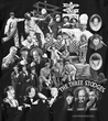 Three Stooges T-shirt - Mix Collage Black Tee
