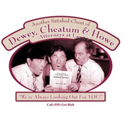 Three Stooges T-shirts Funny Attorneys At Law Tee Shirts