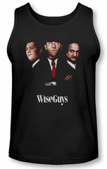 Three Stooges Tank Top Wiseguys Black Tanktop