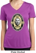 Three Stooges Tee Curly Porter Ladies Dry Wicking V-neck