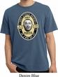 Three Stooges Tee Curly Porter Pigment Dyed T-shirt