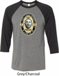 Three Stooges Tee Curly Porter Raglan Shirt