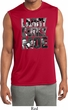 Three Stooges Tee Larry Curly Moe Dry Wicking Sleeveless Shirt