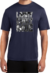 Three Stooges Tee Larry Curly Moe Dry Wicking T-Shirt