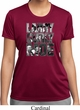 Three Stooges Tee Larry Curly Moe Ladies Dry Wicking T-shirt