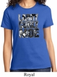 Three Stooges Tee Larry Curly Moe Ladies T-shirt