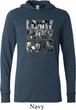 Three Stooges Tee Larry Curly Moe Lightweight Hoodie