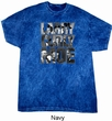 Three Stooges Tee Larry Curly Moe Mineral Tie Dyed T-shirt