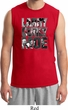 Three Stooges Tee Larry Curly Moe Muscle Shirt