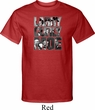 Three Stooges Tee Larry Curly Moe Tall T-shirt