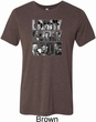 Three Stooges Tee Larry Curly Moe Tri Blend T-Shirt