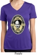 Three Stooges Tee Larry IPA Ladies Dry Wicking V-neck