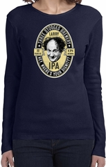Three Stooges Tee Larry IPA Ladies Long Sleeve