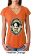 Three Stooges Tee Larry IPA Ladies Tri Blend V-neck