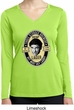 Three Stooges Tee Shemp Lager Ladies Dry Wicking Long Sleeve
