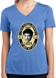 Three Stooges Tee Shemp Lager Ladies Dry Wicking V-neck