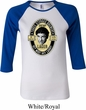 Three Stooges Tee Shemp Lager Ladies Raglan