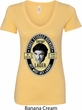 Three Stooges Tee Shemp Lager Ladies V-Neck