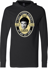 Three Stooges Tee Shemp Lager Lightweight Hoodie