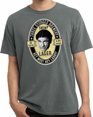 Three Stooges Tee Shemp Lager Pigment Dyed T-shirt