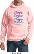Thyroid Cancer Awareness Hope Love Cure Hoodie